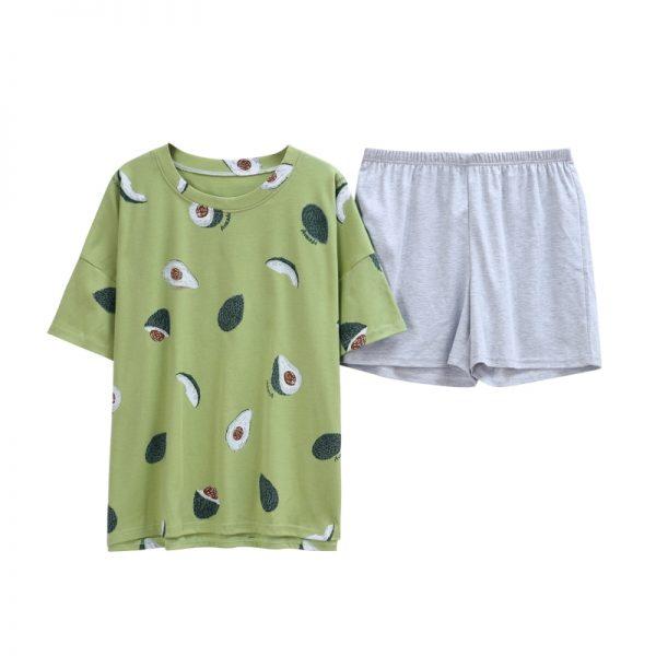 El Aguacate Store Pijama Verano Aguacates